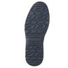Pánska kožená členková obuv bata, čierna, 896-6667 - 19
