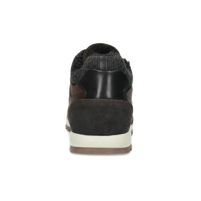 Kožená zimná obuv bata, hnedá, 846-4646 - 15