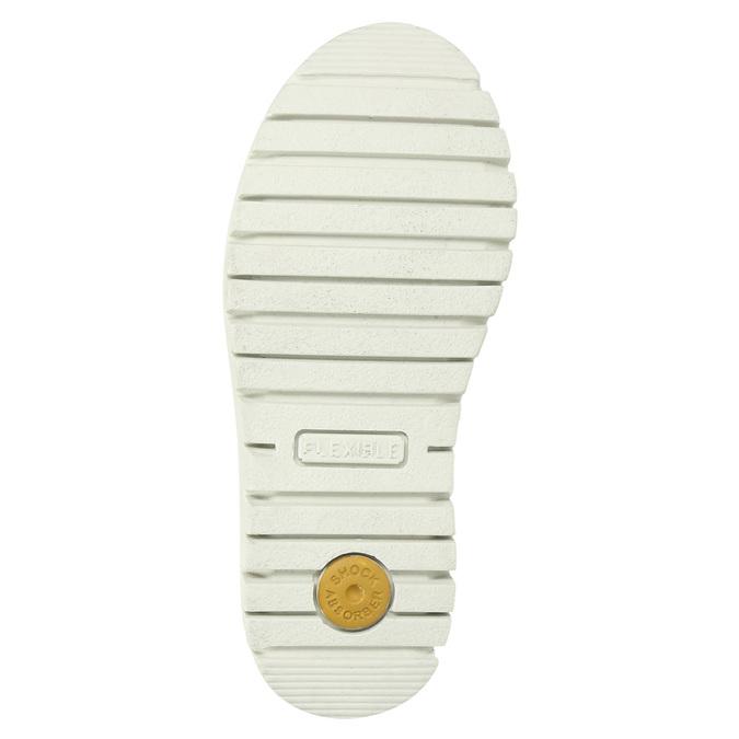 Kožené dievčenské čižmy s kožúškom mini-b, hnedá, 393-4606 - 19