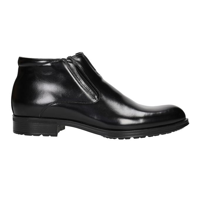 Pánska členková obuv so zateplením conhpol, čierna, 894-6698 - 26
