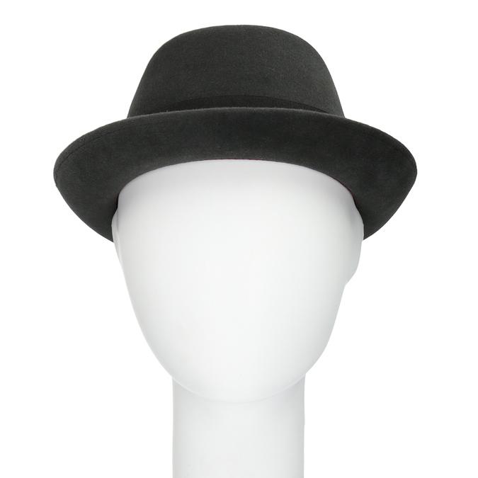 Pánsky klobúk so stuhou tonak, šedá, 909-2647 - 16