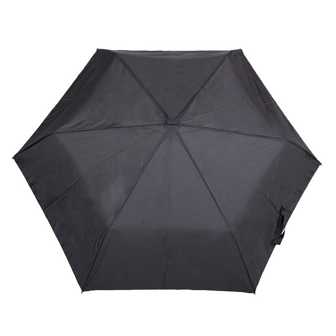 Čierny skladací dáždnik doppler, čierna, 909-6659 - 26