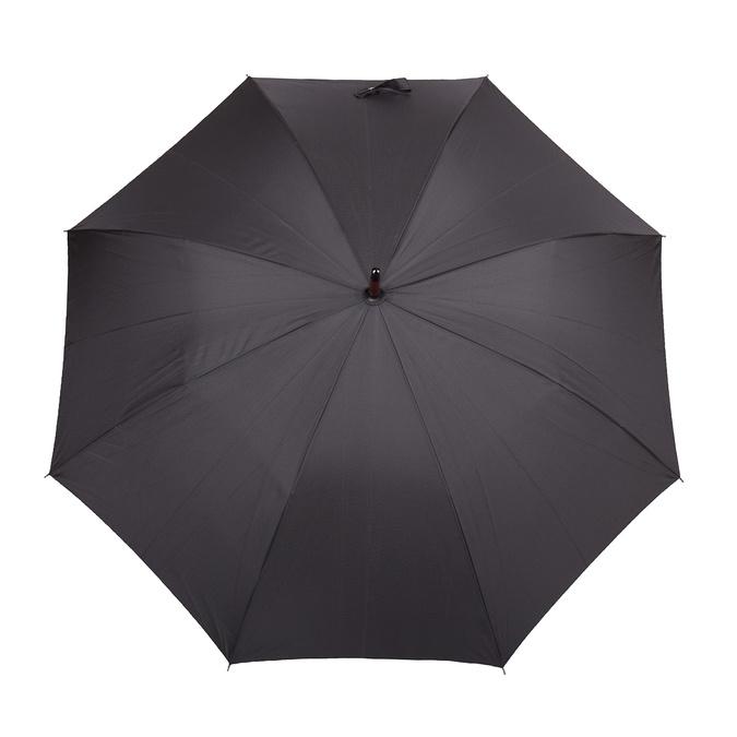 Veľký čierny dáždnik doppler, čierna, 909-6661 - 26