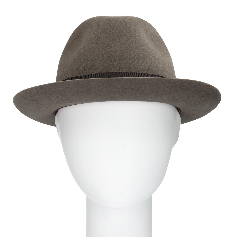 035a63b48 ... Pánsky hnedý klobúk s mašľou tonak, hnedá, 909-3648 - 16 ...