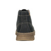 Pánska zimná kožená obuv weinbrenner, čierna, 896-6107 - 16
