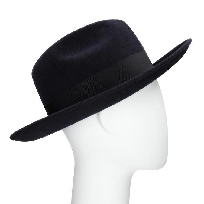 Tmavo modrý klobúk tonak, modrá, 909-9653 - 13