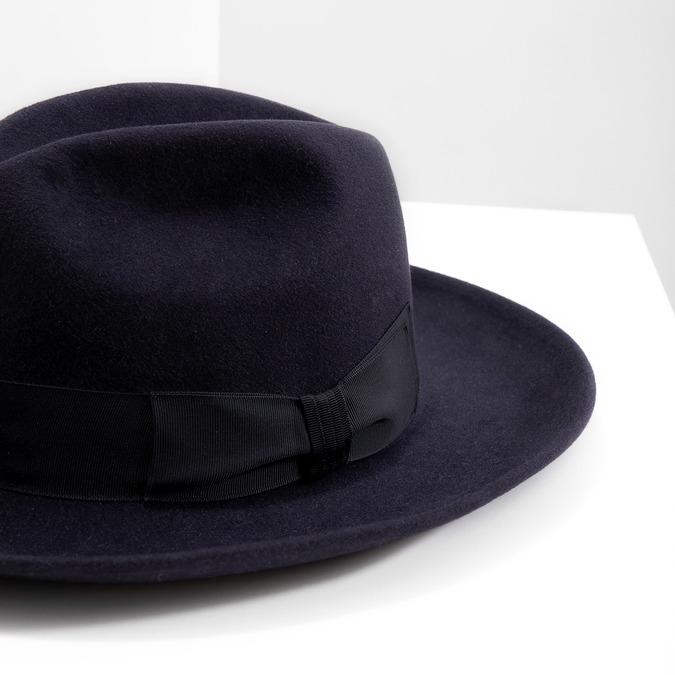 Tmavo modrý klobúk tonak, modrá, 909-9653 - 14