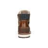 Pánska kožená obuv hnedá bata, hnedá, 896-3666 - 17