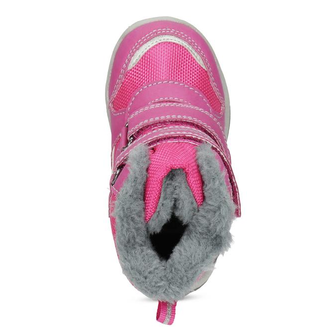 Ružové detské snehule bubblegummers, ružová, 199-5602 - 17