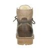 Kožená zimná obuv s kožúškom weinbrenner, hnedá, 594-2491 - 16