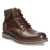 Pánska členková zimná obuv bata, hnedá, 896-4657 - 13