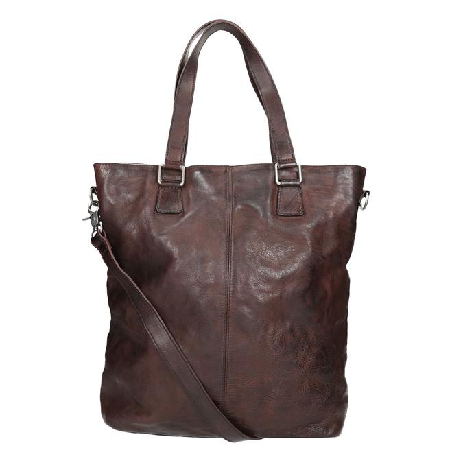 Hnedá kožená kabelka bata, hnedá, 964-4245 - 16