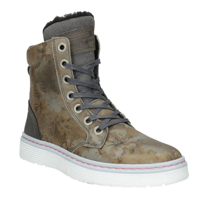 Dámska zimná obuv so zateplením bata, šedá, 596-2684 - 13