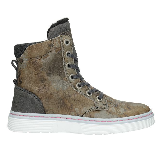 Dámska zimná obuv so zateplením bata, šedá, 596-2684 - 26