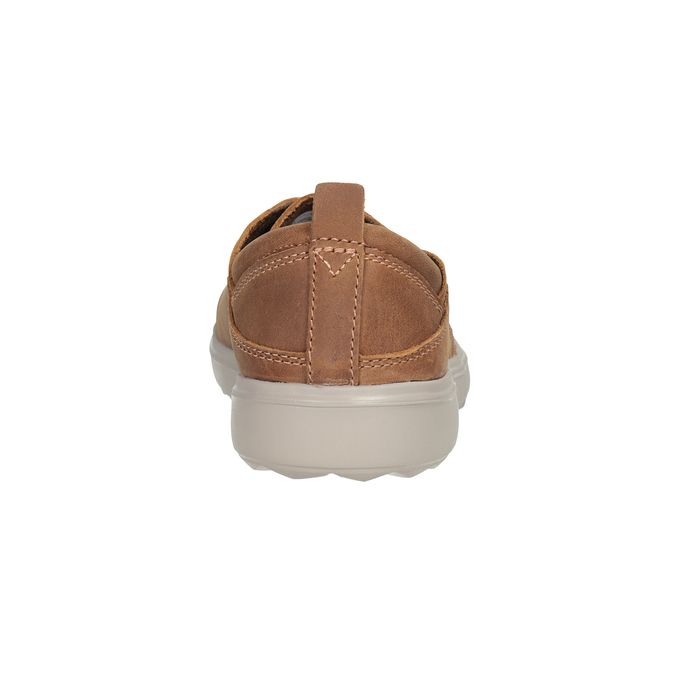 Kožené dámské tenisky merrell, hnedá, 506-4702 - 16