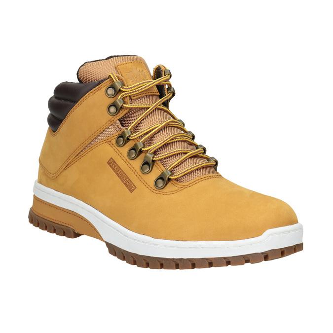Kožená pánska zimná obuv k1x, hnedá, 806-3495 - 13