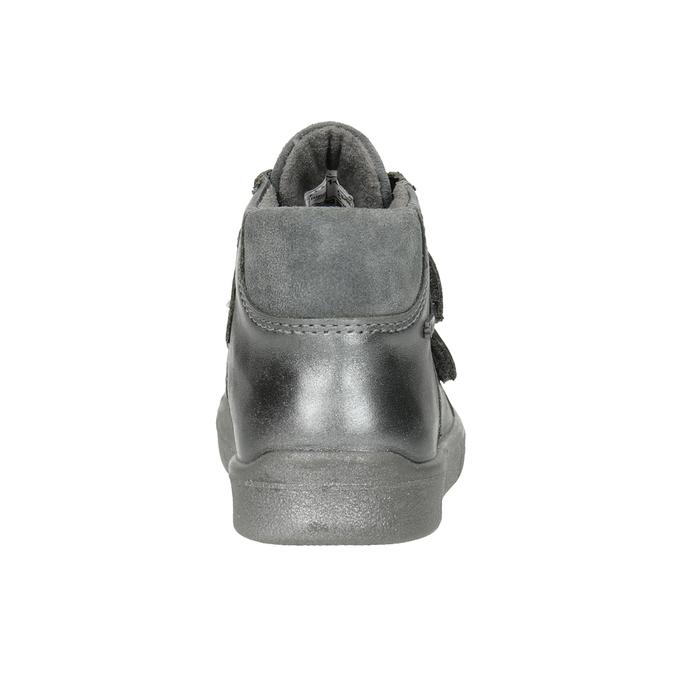 Detská členková obuv superfit, biela, 126-1037 - 16