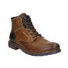 Členková kožená obuv bata, hnedá, 896-3680 - 13