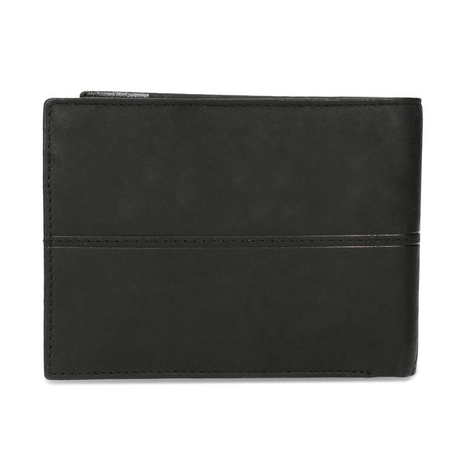 Pánska kožená peňaženka bata, čierna, 944-6188 - 16