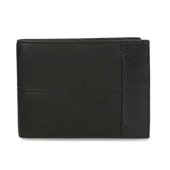 Pánska kožená peňaženka bata, čierna, 944-6188 - 26