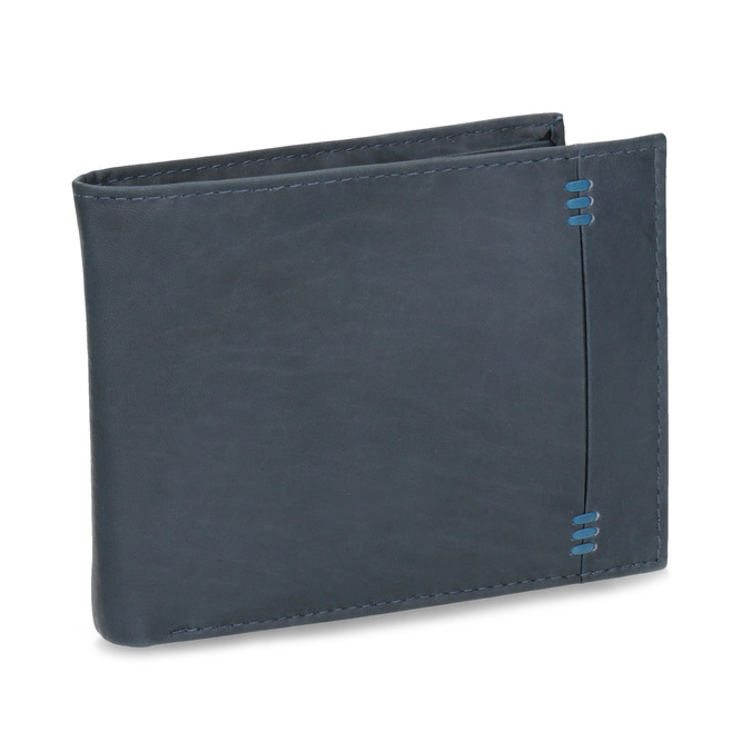 Kožená pánska peňaženka bata, modrá, 944-9188 - 13