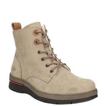 Dámska členková zimná obuv weinbrenner, hnedá, 596-3666 - 13
