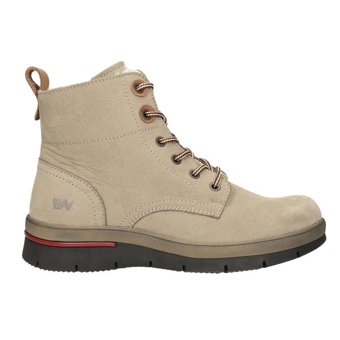 Dámska členková zimná obuv weinbrenner, hnedá, 596-3666 - 26