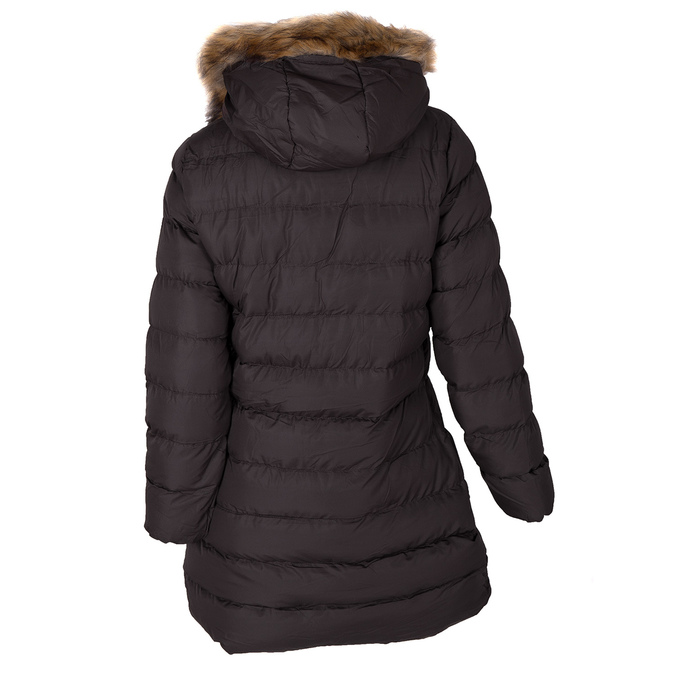 Dámska zimná bunda s kožúškom bata, hnedá, 979-4134 - 26