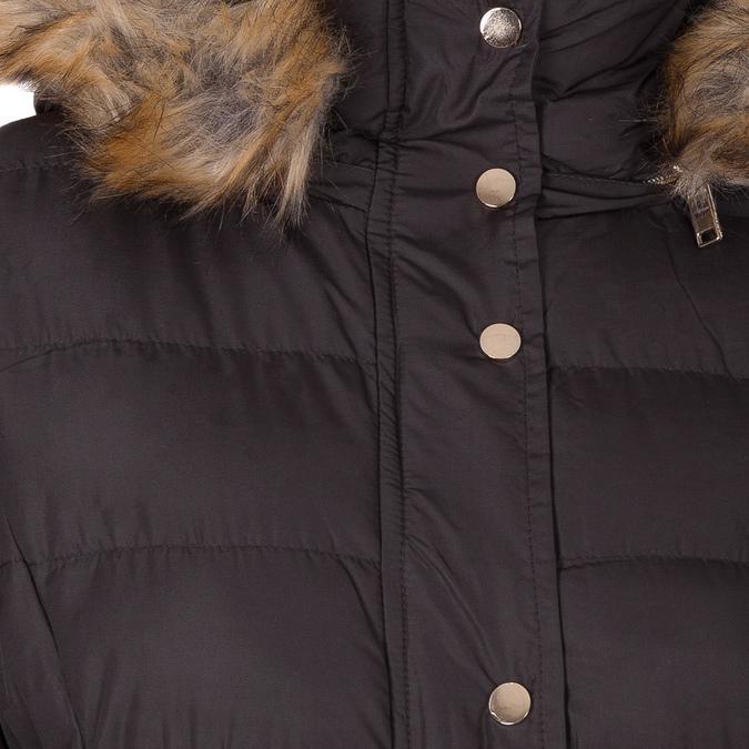 Dámska zimná bunda s kožúškom bata, hnedá, 979-4134 - 16