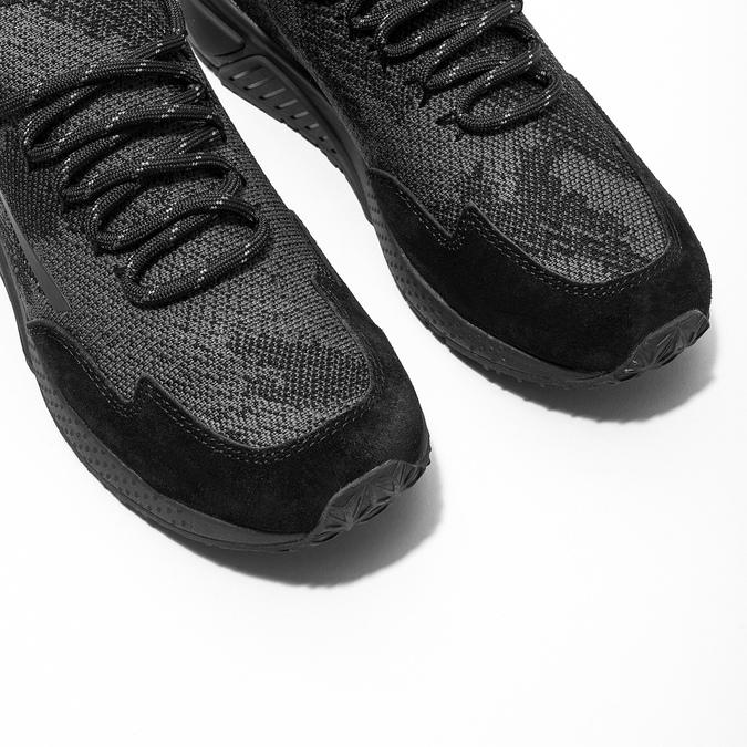 Dámske športové tenisky diesel, čierna, 509-6760 - 14