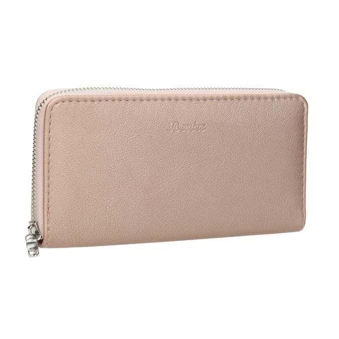 Dámska ružová peňaženka bata, ružová, 941-5155 - 13
