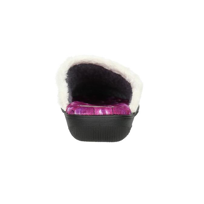 Dámska domáca obuv ružová bata, 579-5622 - 17