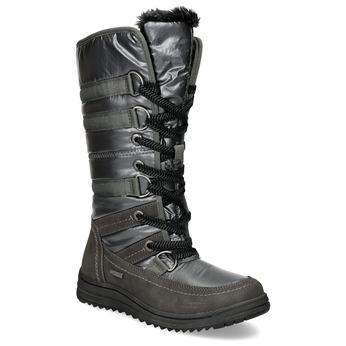 Dámske zimné snehule bata, šedá, 599-2619 - 13