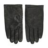 Kožené čierne rukavice bata, čierna, 904-6130 - 26