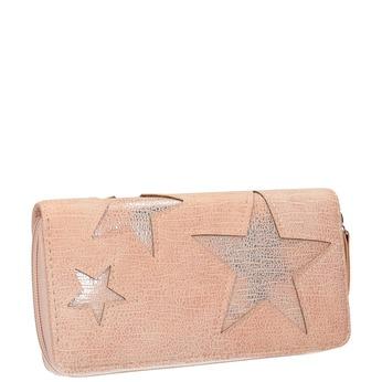 Ružová peňaženka s hviezdami bata, ružová, 941-5154 - 13