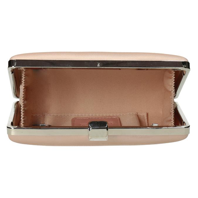 Krémová listová kabelka s retiazkou bata, 969-8671 - 15