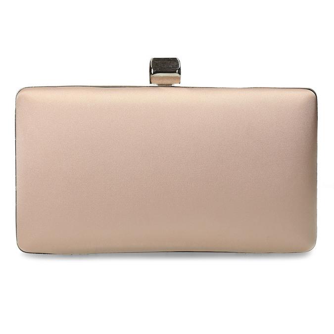 Krémová listová kabelka s retiazkou bata, 969-8671 - 26