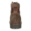 Kožená členková zimná obuv bata, hnedá, 896-4661 - 15