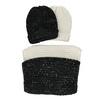 Darčekový set  kruhového šálu a čiapky bata, viacfarebné, 909-0170 - 13