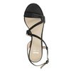 Dámske spoločenské sandále s kamienkami bata, čierna, 729-6611 - 15