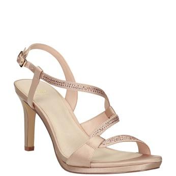Dámske sandále s kamienkami bata, 729-8611 - 13
