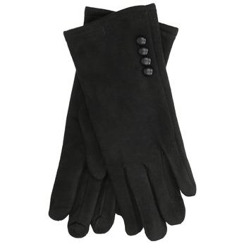 Dámske textilné rukavice bata, čierna, 909-6612 - 13