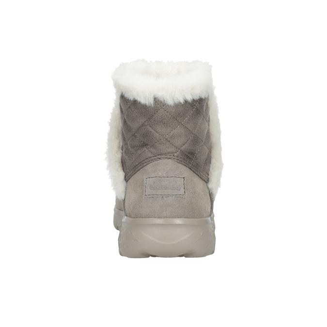 Dámska obuv z brúsenej kože skechers, 503-3326 - 15