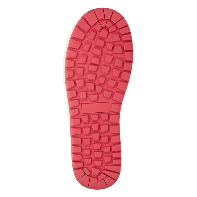 Červené dámske snehule bata, červená, 599-5616 - 19