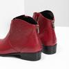Červená členková obuv bata, červená, 594-5665 - 18
