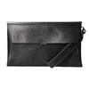 Čierna kožená listová kabelka bata, čierna, 966-6285 - 26