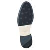 Pánske kožené Derby poltopánky bata, modrá, 826-9924 - 17