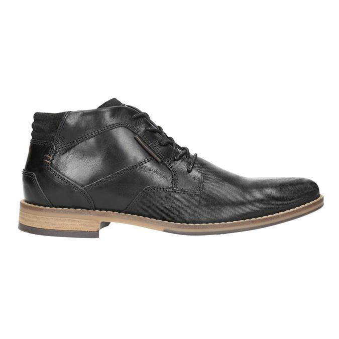 Členková pánska obuv bata, čierna, 826-6926 - 26