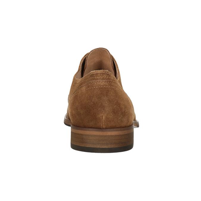 Oxford poltopánky z brúsenej kože bata, hnedá, 823-3618 - 16
