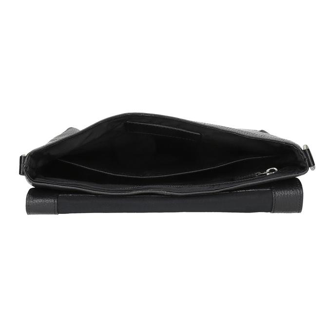 Kožená Crossbody taška royal-republiq, čierna, 964-6093 - 15
